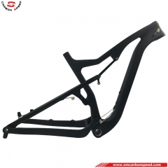 CS-001 26er Full Suspension Fat Bike Frame for 12*177mm TA