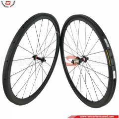 CSRW-RM38T 38mm 20.5/23/25mm wide tubular carbon road bike wheels