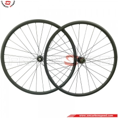 CSXMW-HR724C 27.5er mtb carbon wheels clincher&tubeless&hookless
