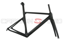 CS-686 700c racing carbon road bike frame fork seatpost
