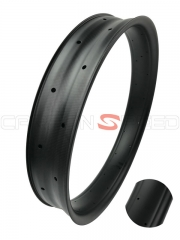 YHR100C-25mm 100mm fat bike rim carbon clincher