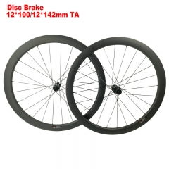 CSRDW-RM45C 45mm 25mm wide disc brake road bike carbon wheels clincher