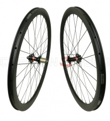 CSGW-ZR38C 38mm 23/25mm wide full carbon cyclocross wheels tubeless